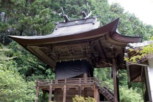 本殿ー皷神社ー