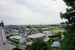 帝釈堂からの眺めー太然寺ー