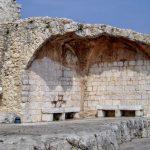 エズ山頂の城跡