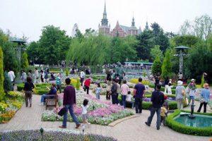切り絵の庭ー倉敷チボリ公園ー