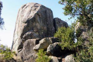 夫婦岩ー矢坂山ー