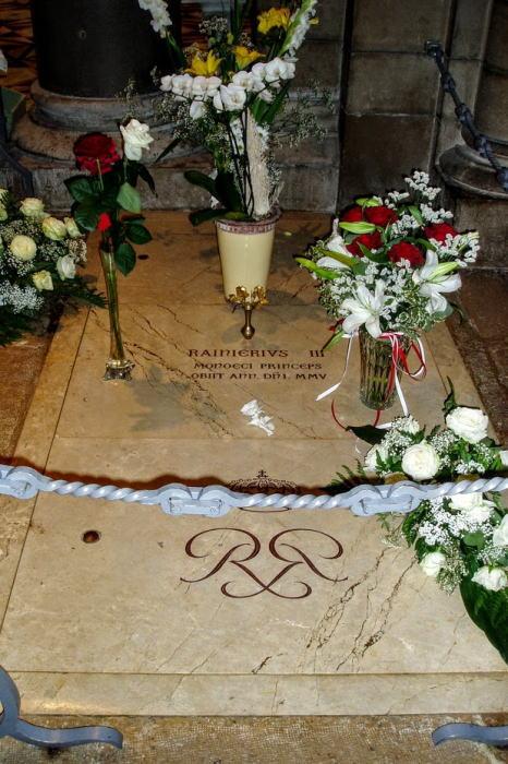 レニエ大公3世の墓