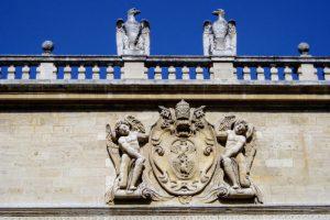 モネー館の彫刻