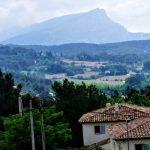 サント・ヴィクトワール山ーレ・ローヴの丘よりー