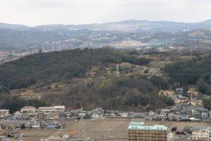 岡山空港方面ー富山城跡よりー