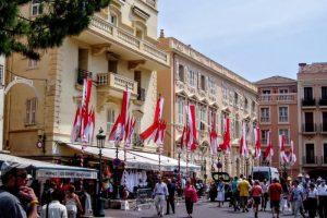 モナコ王宮前広場