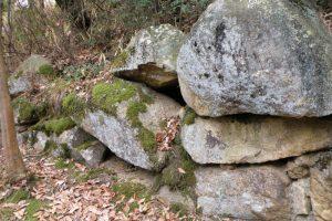 富山城跡石垣