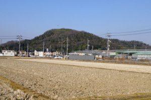 富山城跡ー野殿西町よりー