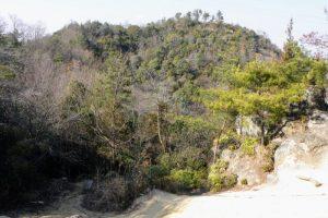 富山城跡ーすべり山よりー