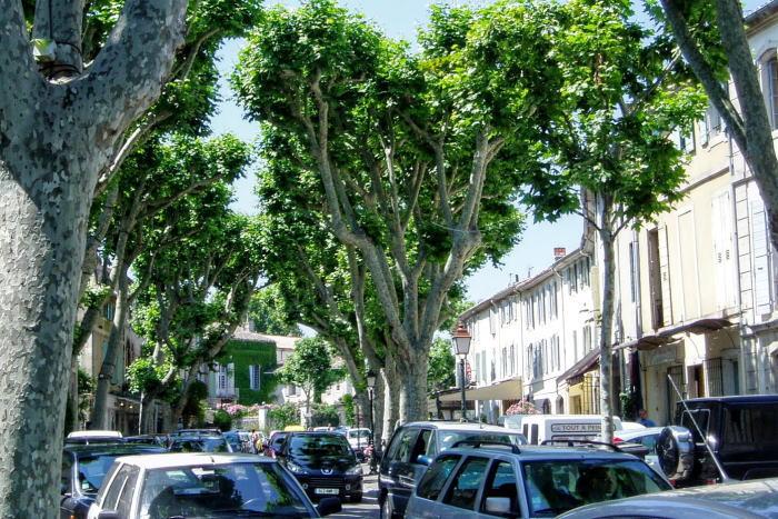 サン・レミ・ド・プロヴァンス市街