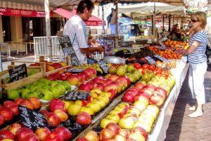 果物市ーサレヤ広場ー