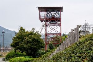 藤原人材竪坑櫓