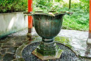 手水鉢ー大山寺ー