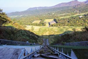 大山スキージャンプ台