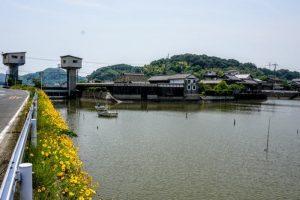 千町川大水門