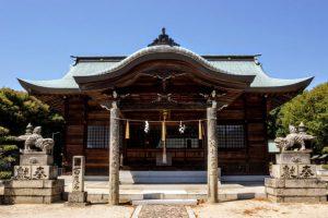 本荘八幡宮拝殿
