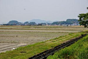 幸島新田と乙子城跡