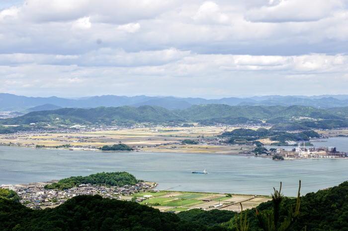 幸島新田ー三頂山よりー