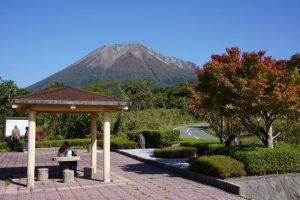 添谷展望駐車場より大山を望む