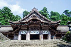 奥宮拝殿ー大神山神社ー