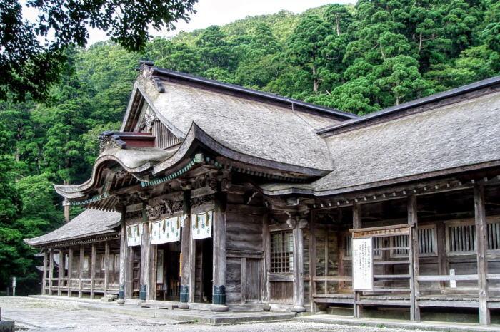 大神山神社奥宮拝殿
