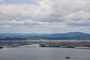 沖新田ー三頂山よりー