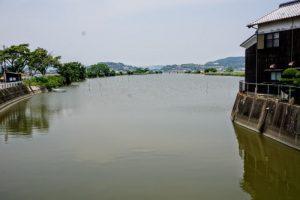千町川ー西大水門よりー
