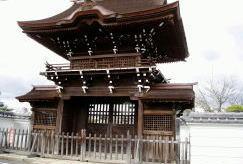 愛染寺 鐘楼門