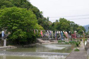 宮川・津山城跡と橋本町