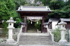 大隅神社 神門