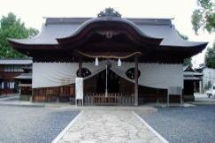 徳守神社 拝殿