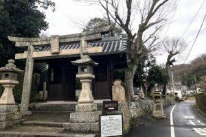 素戔嗚神社ー藤井宿ー