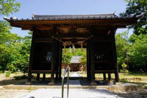 八幡神社 隋神門