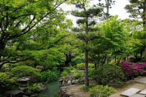 新渓園庭園