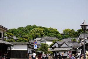 鶴形山ー美観地区入口よりー