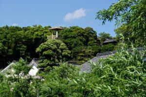 鶴形山ー美観地区よりー