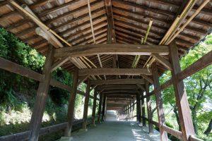 箆取神社 廻廊