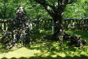 夫婦岩ー箆取神社ー
