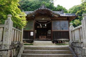 拝殿ー秦八幡神社ー