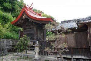 本殿ー秦八幡神社ー