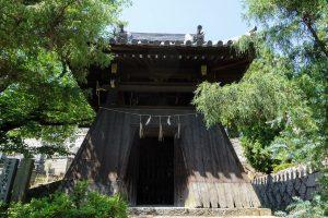 宝嶋寺 鐘楼