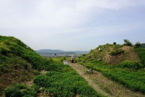 土塁と曲輪ー南山城跡ー