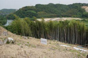 新小田川予定地方面ー南山城跡よりー