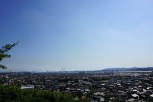 高梁川河口方面ー箆取神社ー
