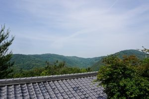 正木山・鍵山方面ー金刀比羅神社よりー