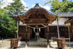 阿宗神社 拝殿