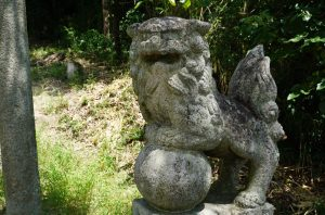 狛犬 阿形ー阿宗神社ー