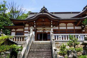 八幡神社拝殿ー鶴崎神社ー