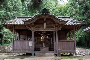 姫社神社 拝殿