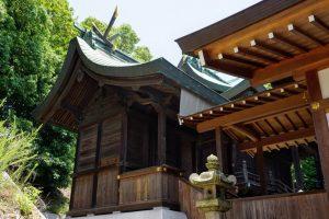 八幡神社 本殿ー鶴崎神社ー